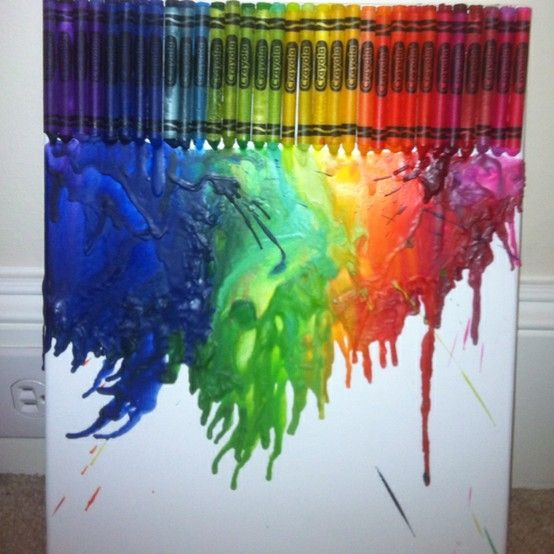 7 best handcoloring with panpastel images on pinterest for Melted crayon art techniques
