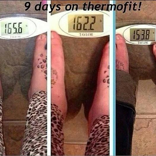 Check out these results coming from ThermoFit ... in only 9 days!! Incredible!! I am looking for 5 customers (new or current) to use this product for 3 months as part of my before and after portfolio. Get it at my cost, help me with a review and look amazing ... Win win!! 706-949-2974