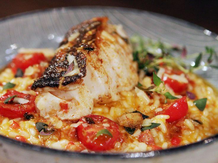 Chorizorisotto med vitlök och timjanstekt torsk | Recept från Köket.se