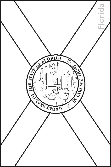 Florida State Symbols Coloring Pages | florida fish wildlife commission coloring book florida s animal ...