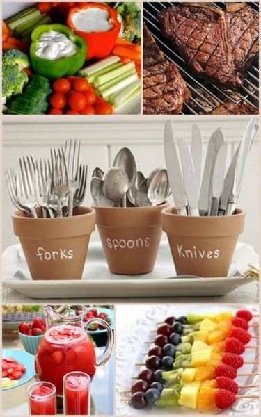 BBQ Party Ideas from HotRef.com #BBQ                                                                                                                                                                                 More