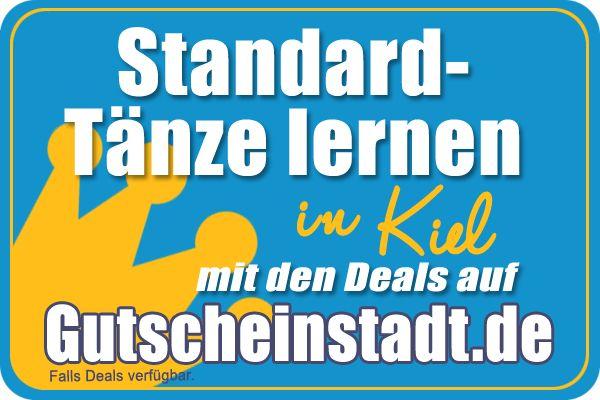 Standardtänze lernen in Kiel mit Gutscheinstadt