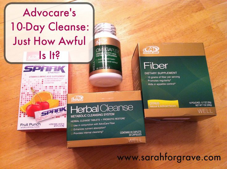 An Inside Look at Advocare's Herbal Cleanse | www.sarahforgrave.com