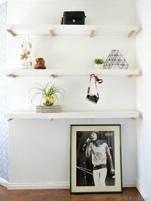 12 DIY Decorating Ideas For Small Spaces. DIY Projects To Make The Most Of  Your Small, Studio Space. Learn How To Hang A Nightstand, Build Copper Peg  ...