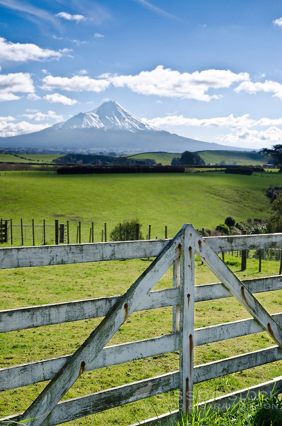 Mount Taranaki. North Island, New Zealand