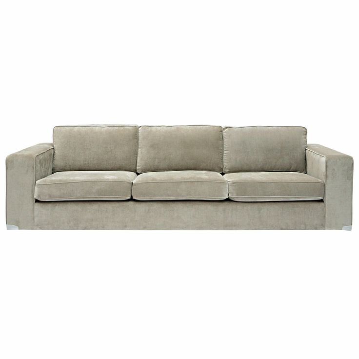 "'Carson' 3.5 Seater Fabric Sofa from Domayne - but in ""Jet"""