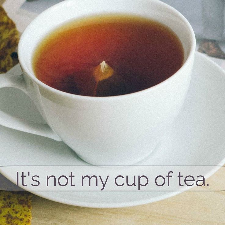 Idiom. If something isn't your cup of tea it means it's not something you're interested in.  #beconfidentinenglish #loveenglish #learnenglish #learningenglish #englishlanguage #englishclub #englishclass #englishteacher #englishschool #efl #esl #elt #englishgrammar #anglais #ingles #inglese #englisch #angielski