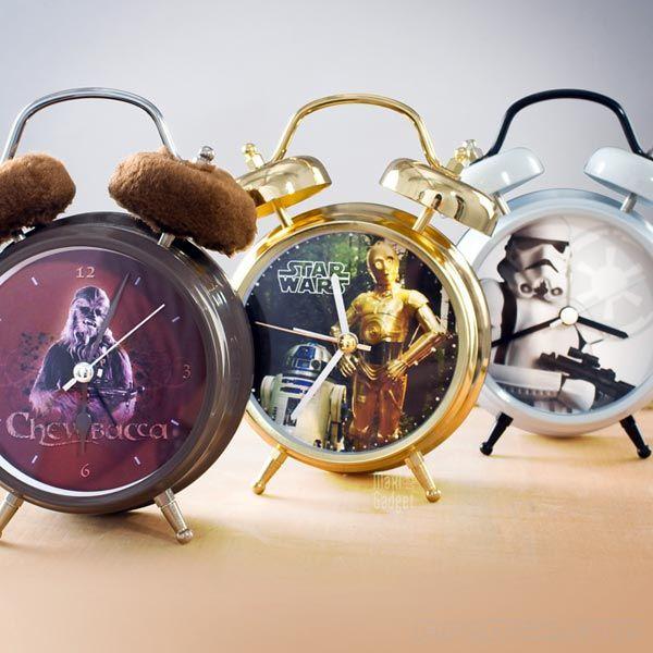 Star Wars Talking Alarm Clocks