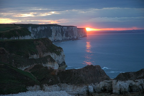 Flamborough Head - Sunset