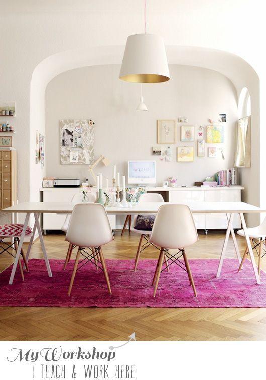 #home, #interior, #decor, #living, #room, #white, #eames