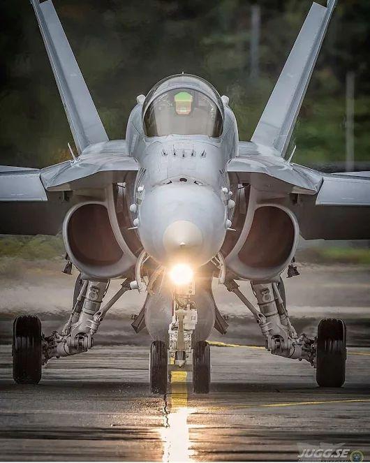 JIHAD EZZ Military Aviation Swiss Air Force F-18C Hornet multirole fighter.