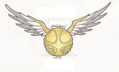 The Golden Snitch by bandsaw013.deviantart.com on @deviantART