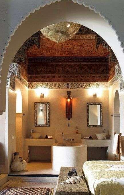 Arredare il bagno in stile etnico - Bagno marocchino