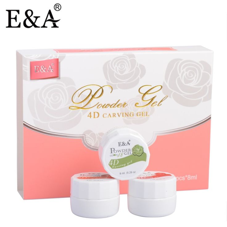 E&A 12pcs Set Sculpture Gel Styling Led UV Gel 3D Nail Sculping Gel
