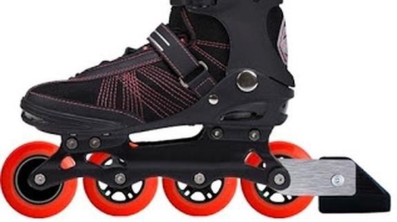 Patines inteligentes  Su inventor es español. Aunque siempre que salgas a patinar es recomendable usar coderas, rodilleras y casco, estos patines están especialmente diseñados para que no te caigas y evitar los desplazamientos involuntarios en terrenos inclinados.