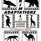This product contains 6 interactive learning activities (27 pages total) focused on the specific physical adaptations of various animals.  Featured...