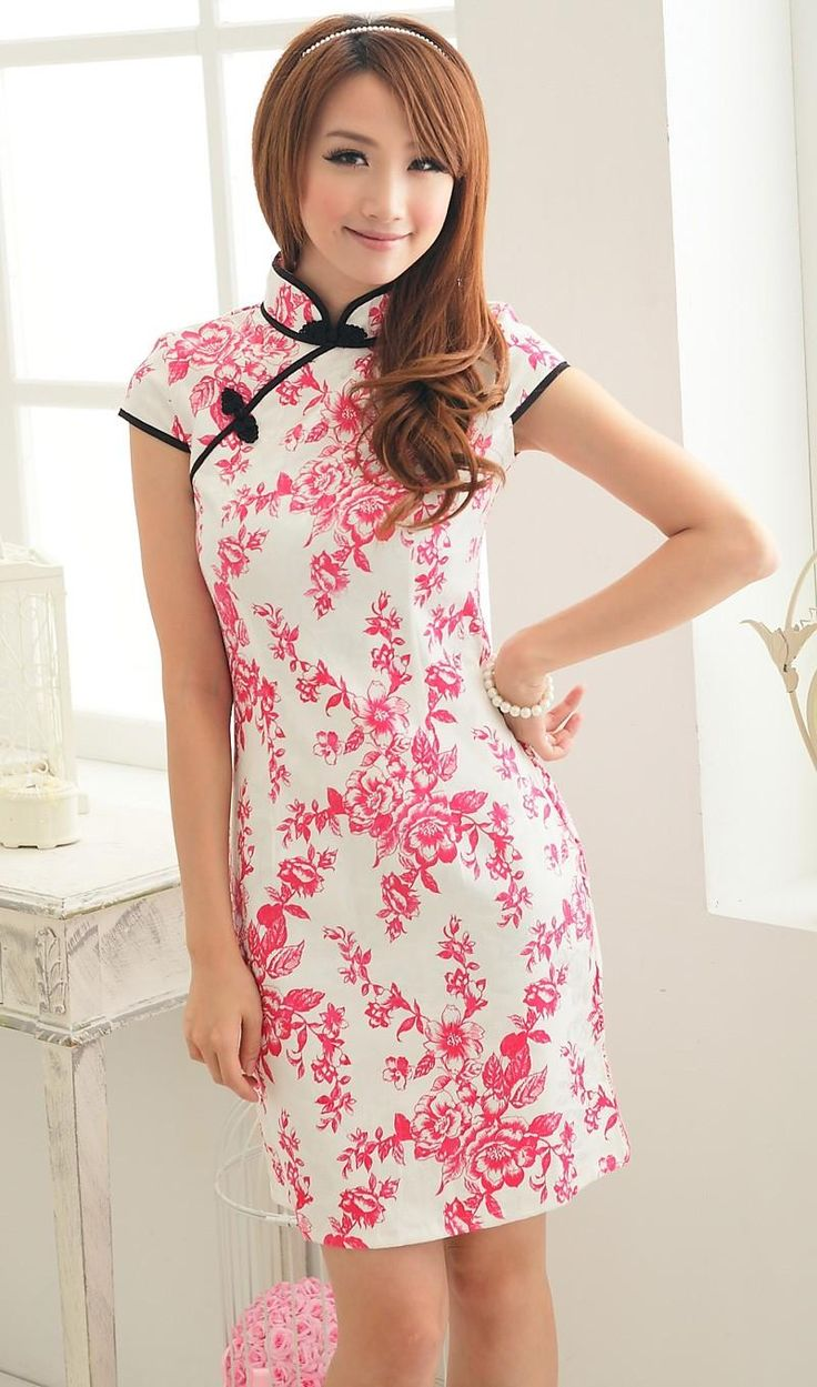 Ok wedding gallery the beauty dress of cheongsam 2013 - Pink And White Cheongsam Chinese Dress
