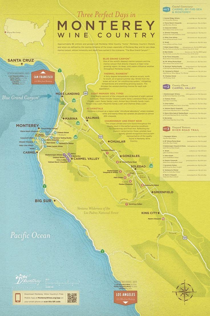 68 best Monterey County images on Pinterest  Wilderness Wineries