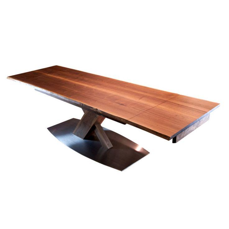 56 besten esstische bilder auf pinterest ausziehbarer tisch design tisch und holzplatte. Black Bedroom Furniture Sets. Home Design Ideas