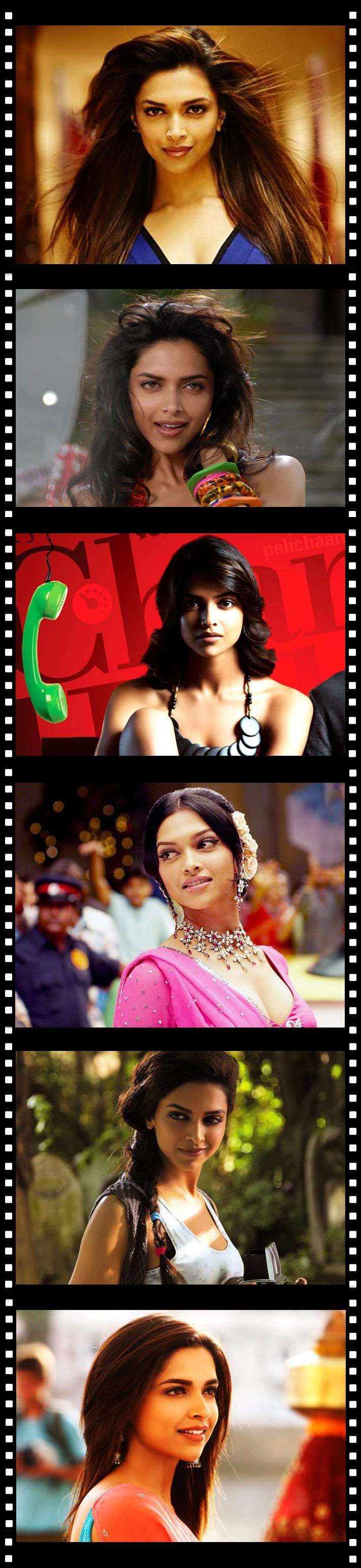 Here's a shout out to all you Deepika Padukone Crazens!   Which of the following movies have you watched, more than once... or twice? :)