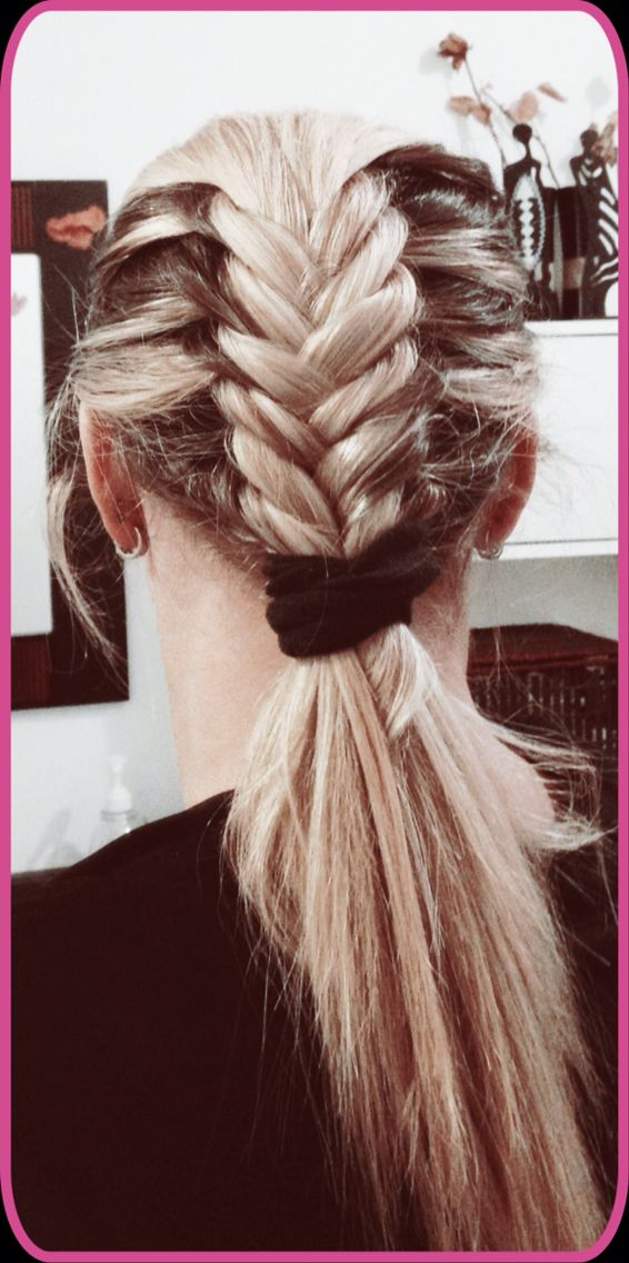 Little braid, fast and easy!