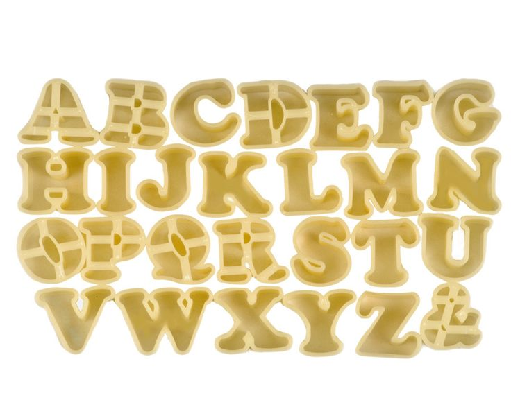 25+ best ideas about Alphabet cookie cutters on Pinterest ...