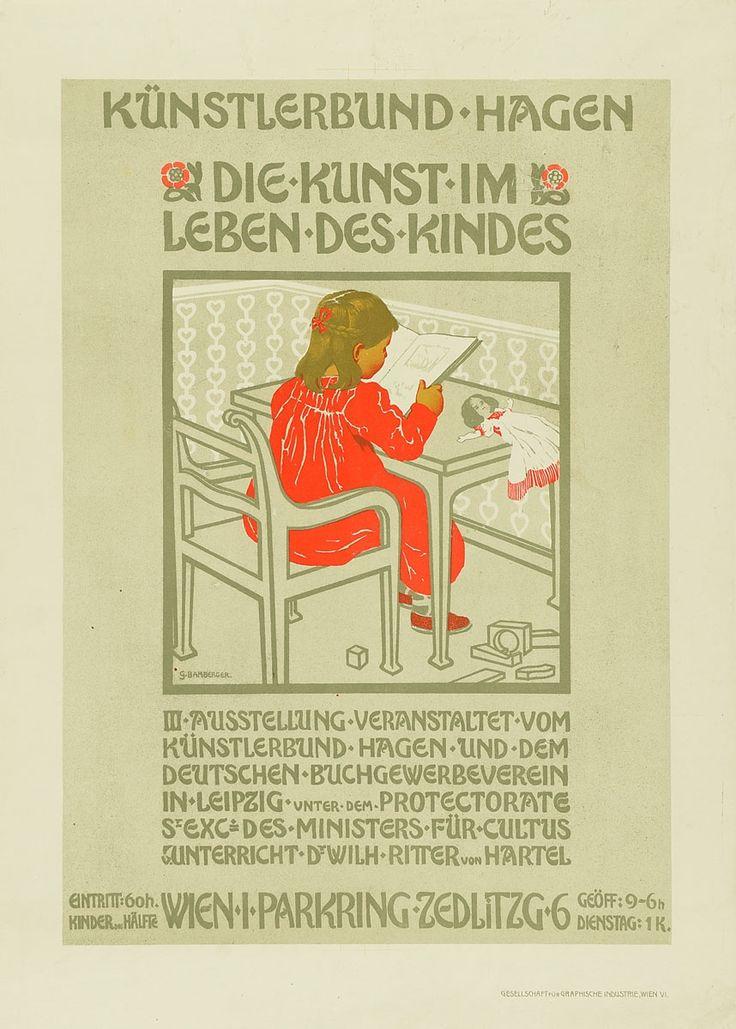 Gesellschaft für Graphische Industrie, Gustav Bamberger | Künstlerbund Hagen. Die Kunst im Leben des Kindes | Museum für Kunst und Gewerbe Hamburg