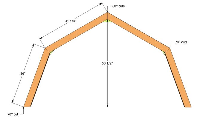 Truss building plans woodworking projects plans for Truss plan