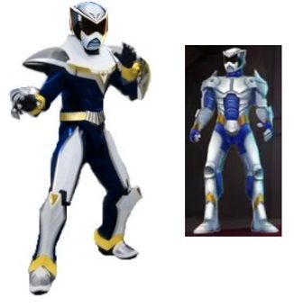 An attempt to create the Future Omega ranger from the Power Rangers Super Legends video game