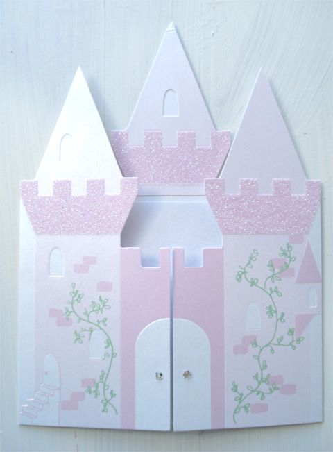 Princess Party. Invitation to the Castle.    make bigger for the wall?