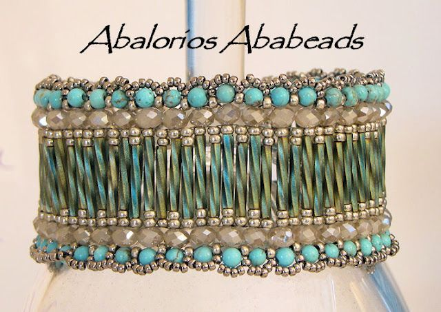 Abalorios Ababeads - Nice schema for this. There are other color variations. #seed #bead #tutorial