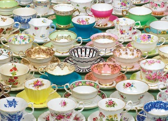 Tea Cups and Tea Cups
