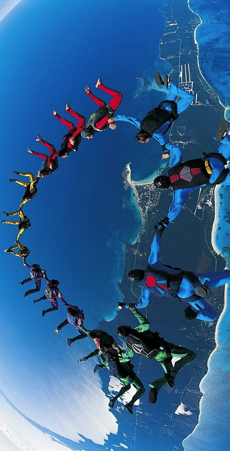Everyone should do this in their lives ... Flying like a bird .. Believe me it's like nothing else in this world .
