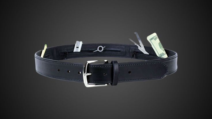From forth the shark's belly comes a belt for your own. And while the Escape & Evasion Gun Belt didn't make it out of the Tank alive its creator, former CIA officer Jason Hanson, is still hoping you'll give the strip of English harness leather and its 3