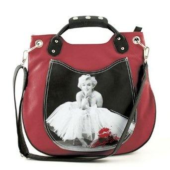 Marilyn Monroe bag! so want!