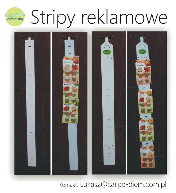 Strip, Stripy reklamowe, krawaty produktowe