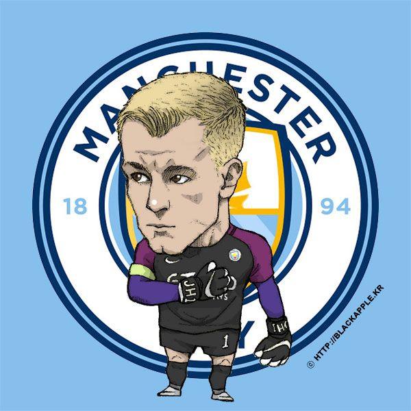 Manchester City No.1 Joe Hart Fan Art