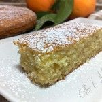 Torta albumi e arancia, morbida e soffice
