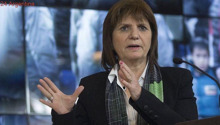 El Gobierno volvió respaldar a Patricia Bullrich: 'Estamos muy contentos con su trabajo'