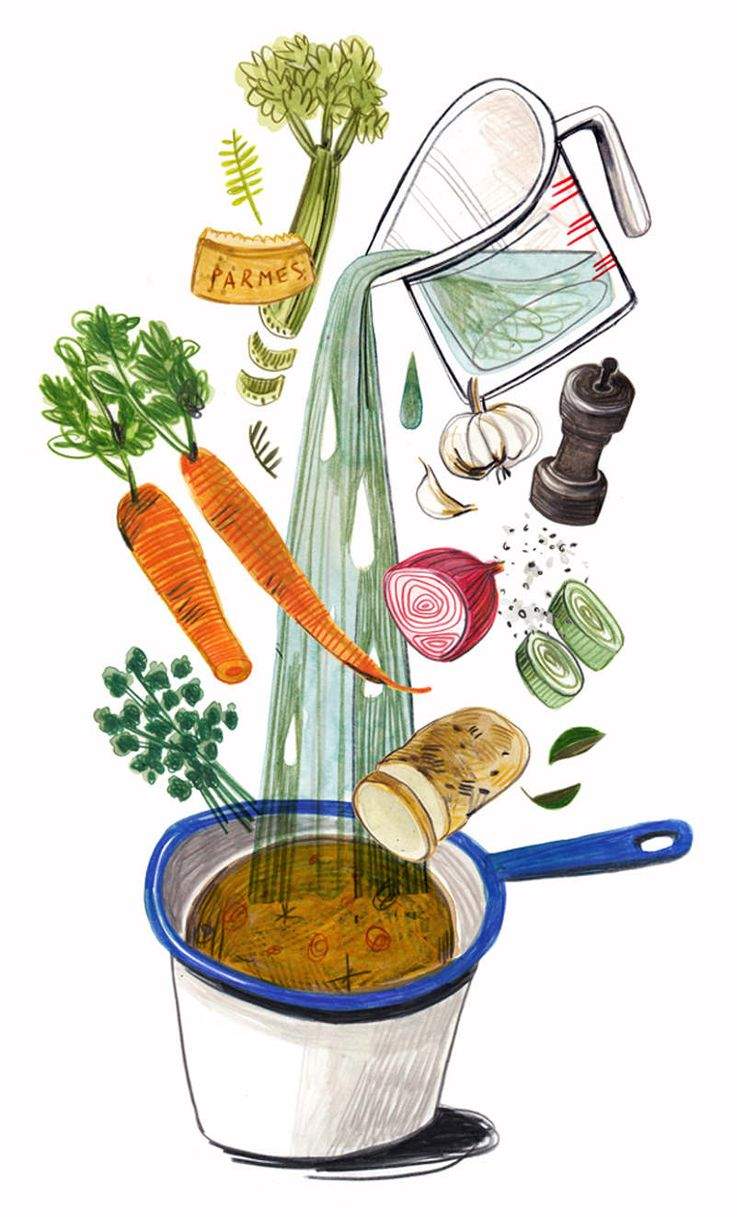 part two of personal series on illustrated recipes.