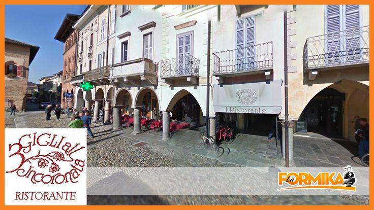 Ristorante 3 Gigli All'Incoronata - Piazza della Vittoria Lodi  Ristoranti Lodi - La Formika