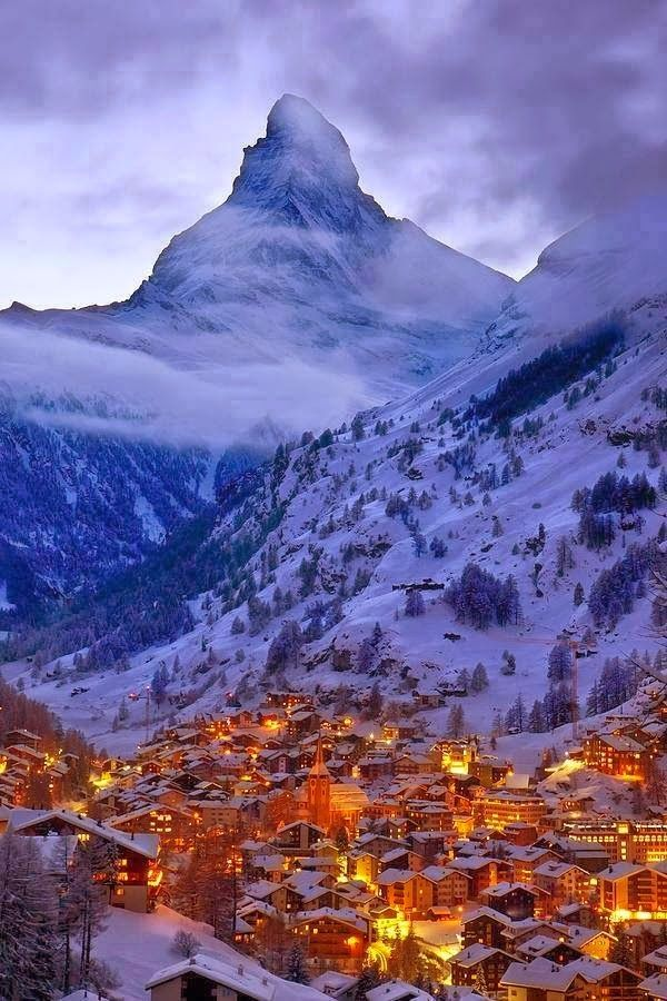 Swiss Alps, Switzerland. Places to travel before you die.