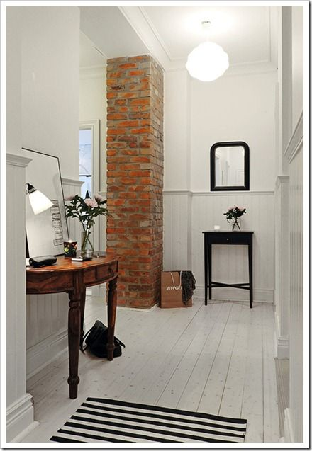 white washed floors Alvehrm Makleri Interiors 1
