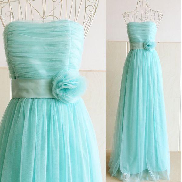 女装同款韩版抹胸长款礼服 晚礼服演出表演年会结婚伴娘团姐妹裙