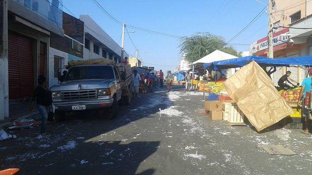 Blog Paulo Benjeri Notícias: Com paralisação de parte dos garis, Ouricuri amanh...