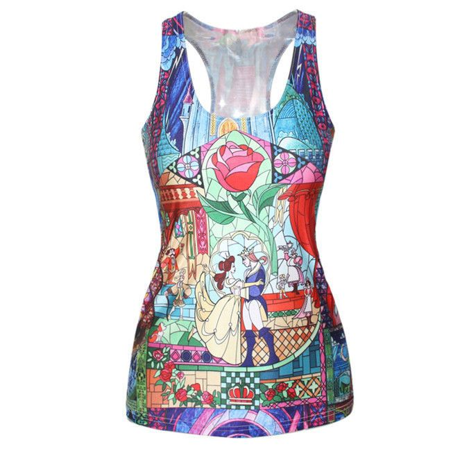 Tank summer tops 2014 Women Summer Slim Thin Sexy Tight Stretch Castle Ball Cami #SexyCube #Fashion