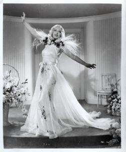 Marion Davies, Page Miss Glory, 1935 (gowns by Orry-Kelly)