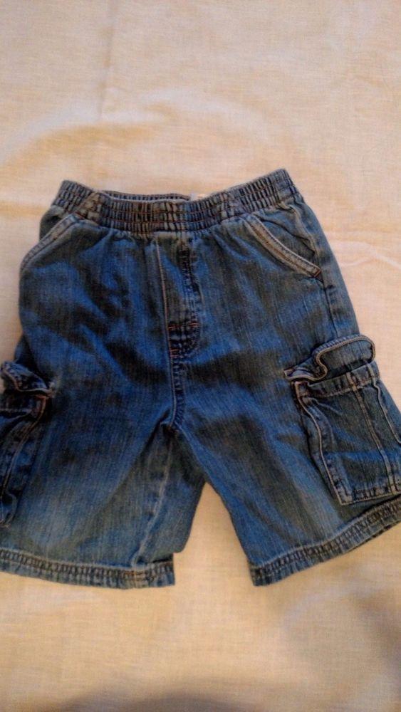 Garanimals Kid's Cargo Jeans Blue Size 5T Stretch Waist #Garanimals #Jeans #Everyday