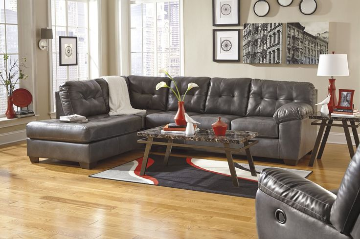 Alliston DuraBlend Gray LAF Sectional