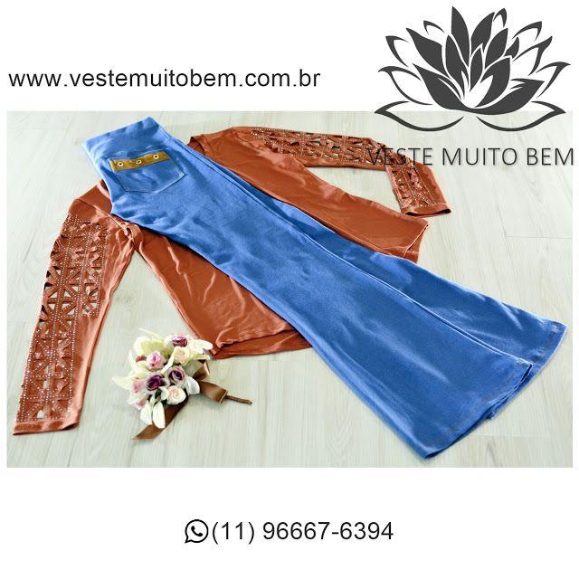 Conquiste seu amor  Camiseta corte a Laser R$ 7500  Calça Jeans Flare R$ 9200 #vestemuitobem #moda #modafeminina #modaparameninas #estilo #roupas #lookdodia #like4like #roupasfemininas #tendência #beleza #bonita #gata #linda #elegant #elegance